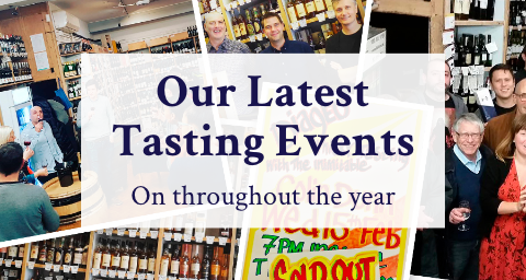 Our Latest Tasting Events